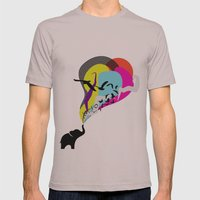 The Elephant's Dream Mens Fitted Tee Cinder SMALL