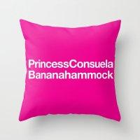 Friends · Princess Cons… Throw Pillow
