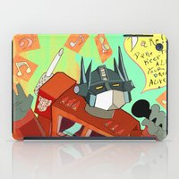 Optimus Prime DARE To Ke… iPad Case