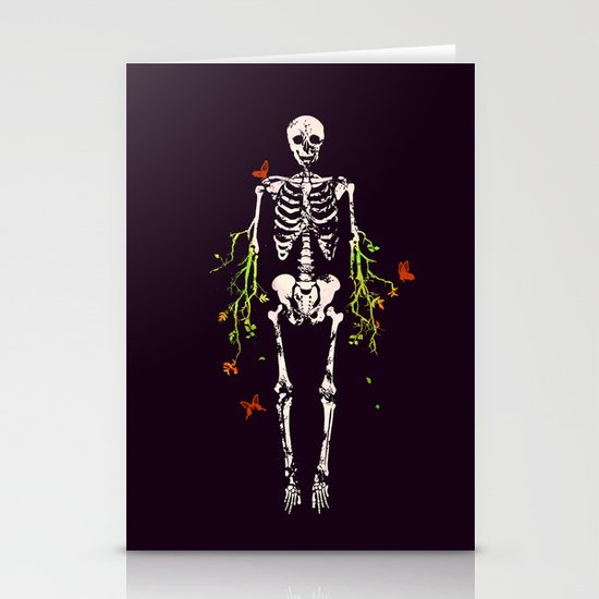 Dead is dead Stationery Card