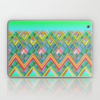Chevron Neon Laptop & iPad Skin