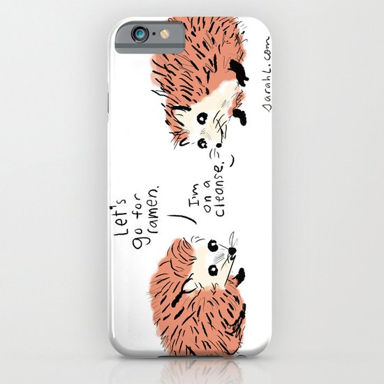 I'm on a cleanse. iPhone & iPod Case