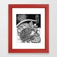 Time Burglars Framed Art Print