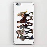 A Hogwarts AU iPhone & iPod Skin