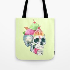 brain freeze Tote Bag