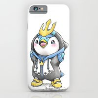 iPhone Cases featuring Bow down to thy Emperor!   by Randy C