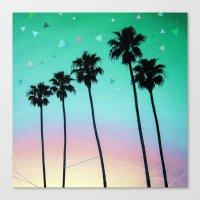 Palm Trees 4 Canvas Print