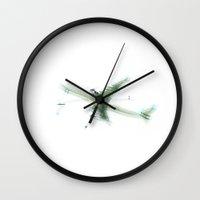 New Airplane Impression Wall Clock