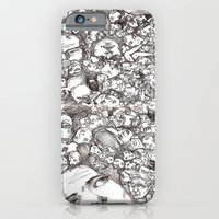 iPhone & iPod Case featuring People-B by Darren Le Gallo
