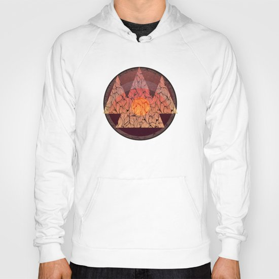 Sunset in the mountains Hoody