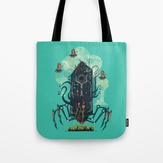 Not with a whimper but with a bang Tote Bag