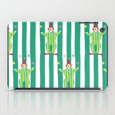 Clown (green) iPad Case