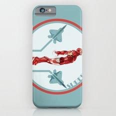 iron man and F22 raptor  Slim Case iPhone 6s