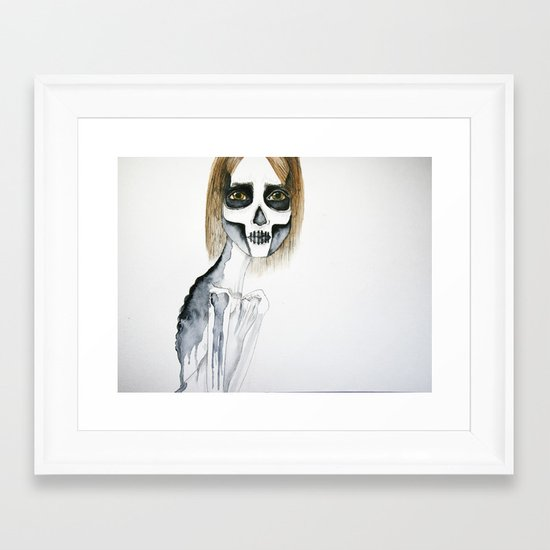emma Framed Art Print