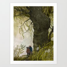 The Wind in the Willows Art Print