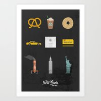 This Is New York For Me.… Art Print