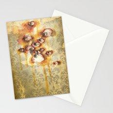 Drippy Victorian Eyeballs Stationery Cards