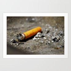 Nicotine - II Art Print