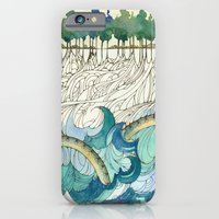 iPhone & iPod Case featuring Leviathan's Roots by PiqueStudios