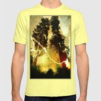 Fire Keeper Soul Mens Fitted Tee Lemon SMALL
