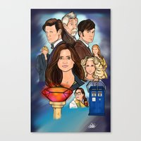 The Day of The Doctor Canvas Print