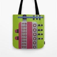 Indian woman with pink breasts Tote Bag