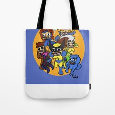 Ex Men Tote Bag