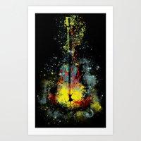 midnight symphony Art Print
