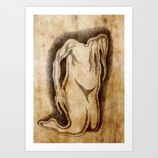 Egnarts Serutaerc 4 Art Print
