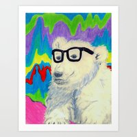 Colorful thinking Art Print