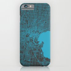 Melbourne map iPhone 6 Slim Case
