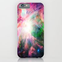 nebula iPhone & iPod Cases featuring Orion NebuLA Colorful Purple by 2sweet4words Designs