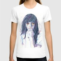 alice T-shirts featuring Alice by Cora-Tiana