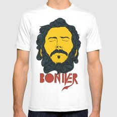 Bon Iver Mens Fitted Tee White SMALL