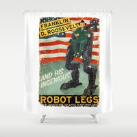 Franklin D. Roosevelt An… Shower Curtain