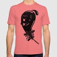 Fountain of wishes Mens Fitted Tee Pomegranate SMALL