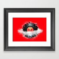 Breaking The Space Tune Framed Art Print