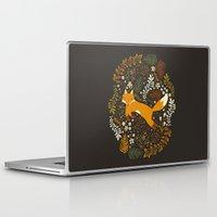 fox Laptop & iPad Skins featuring Fox Tales by Anna Deegan