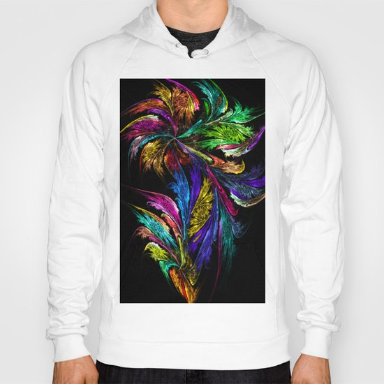 Flower - perhaps too colorful... Hoody