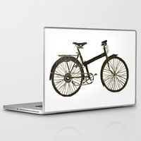 bicycle Laptop & iPad Skins featuring Bicycle by chyworks