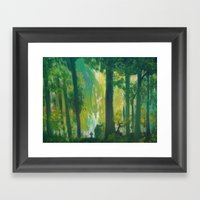 Lost Woods Framed Art Print