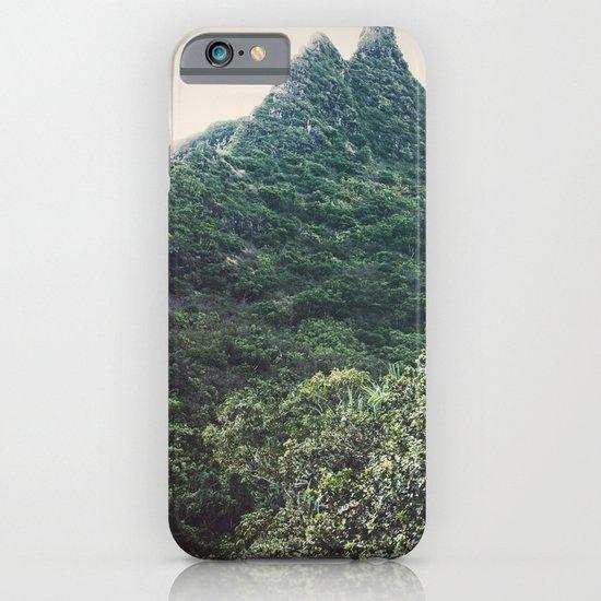 Hawaii Mountain iPhone & iPod Case