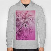 The Sentinal ~ Pink Abstract Hoody