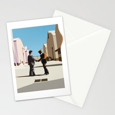 Wish you were flat Stationery Cards