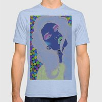 Dotty Girl Mens Fitted Tee Athletic Blue SMALL