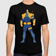 Death Stroke Black SMALL Mens Fitted Tee