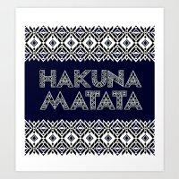 SAWASAWA 2 Art Print