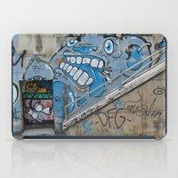 Grey Bear Graffiti iPad Case