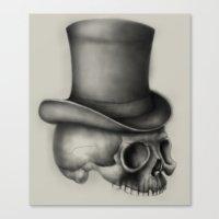 absinthe was my refuge Canvas Print
