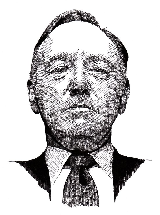 House of Cards - Francis Underwood Art Print